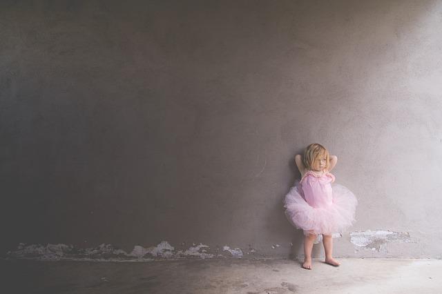 Zu pummelig für die Ballettschule