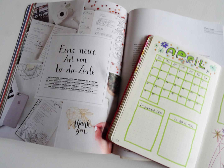 Statt Kalender und Zettel mit to do Listen - ein Bullet Journal
